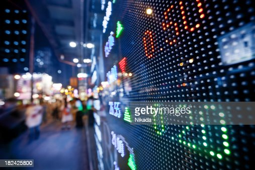display stock market charts