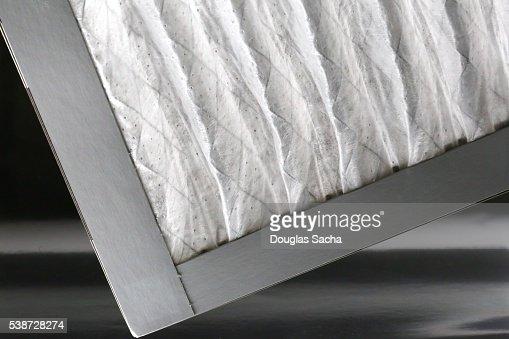 HVAC disposable air filter