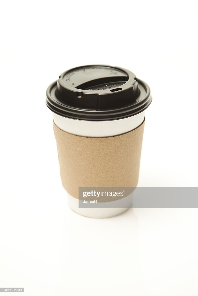 Disposable tea or coffee cup