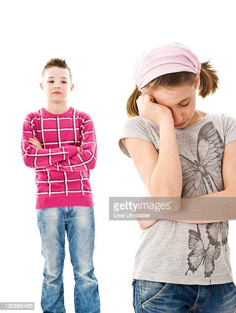 Dispute between a boy and a girl