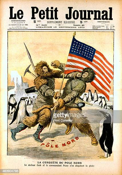 Dispute over who was the first to reach the North Pole 1909 American naval officer and explorer Robert E Peary is generally credited with being the...