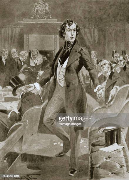 Disraeli's first speech in the House of Commons London 7 December 1837 Disraeli was elected Tory MP for Maidstone in 1837 He went on to become one of...