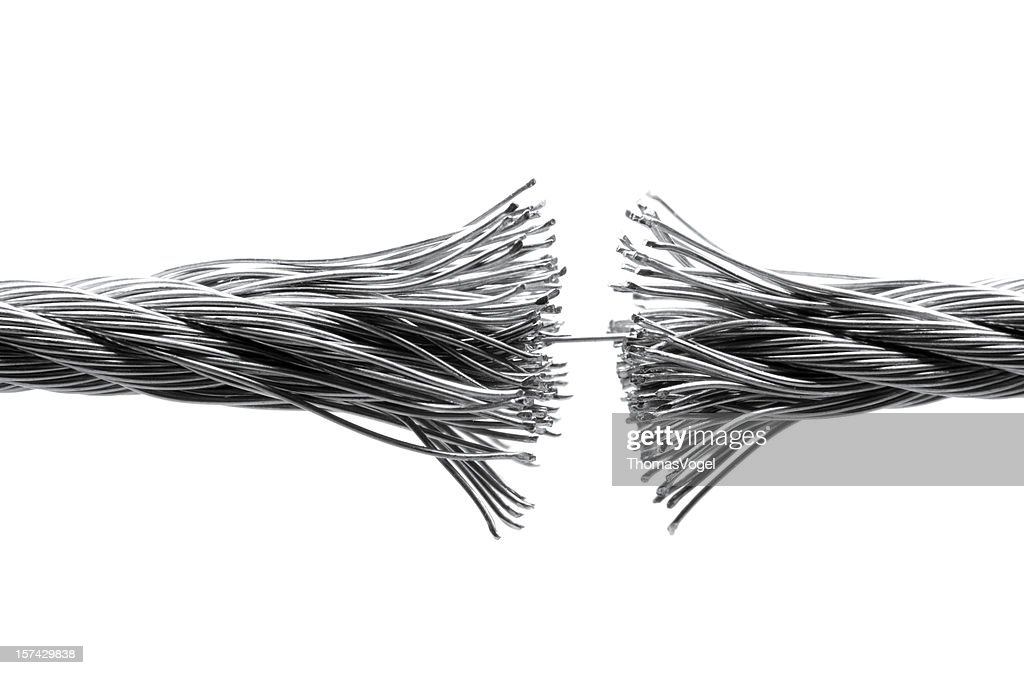 Disrupting wire rope isolated