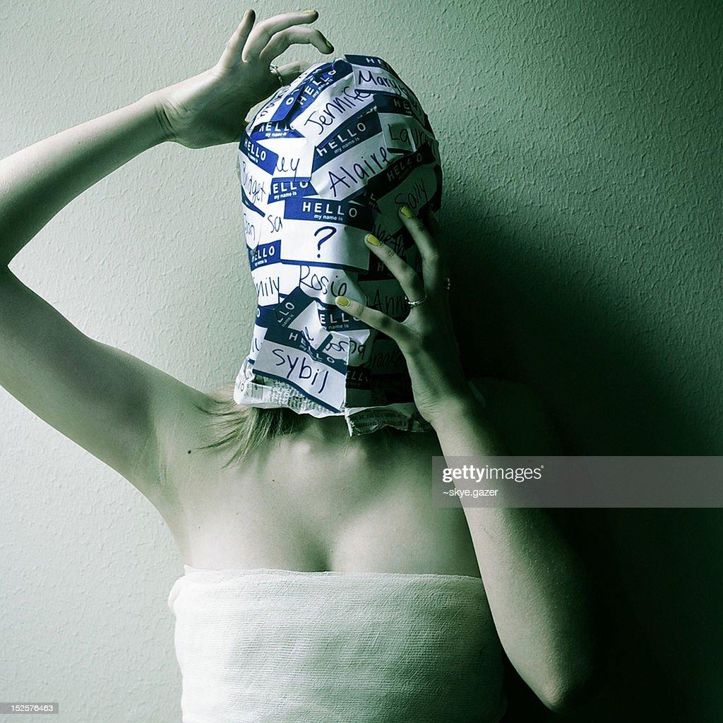 Dissociative identity disorder : Stock Photo