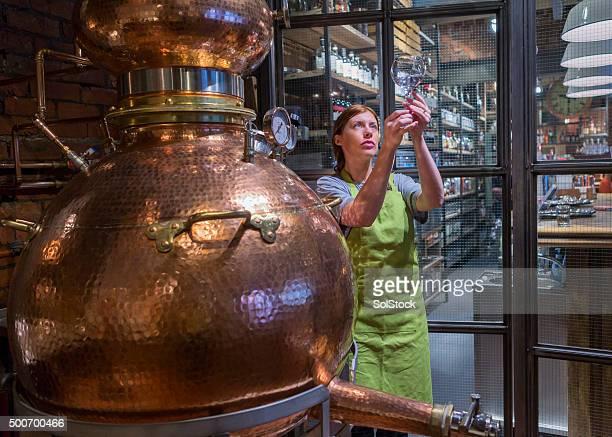 La distillerie Chaudière