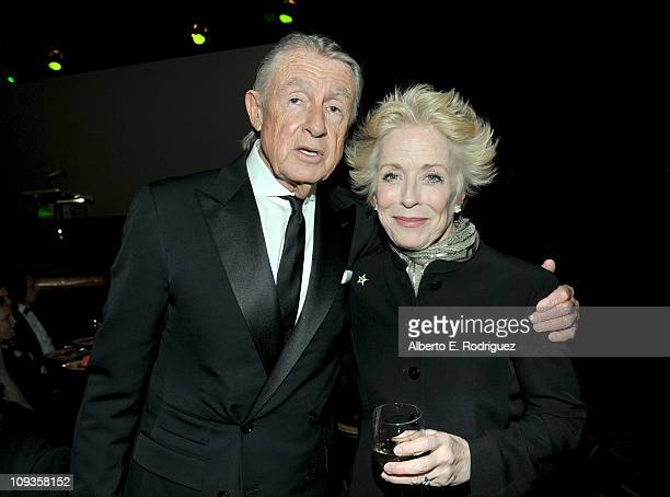 Distinguished Collaborator Award recipient Director Joel Schumacher and actress Holland Taylor attend the 13th Annual Costume Designers Guild Awards...