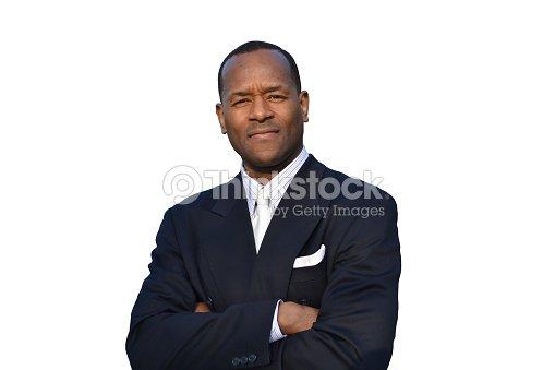 Eine Ausgezeichnete Männermodel Weiße Krawatte Und Blauen Anzug