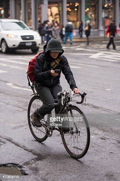 Abgelenkt Biker -