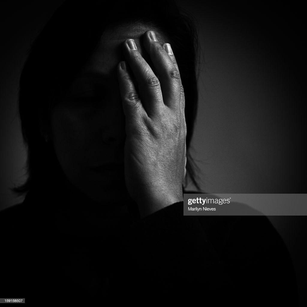 distraught : Stock Photo