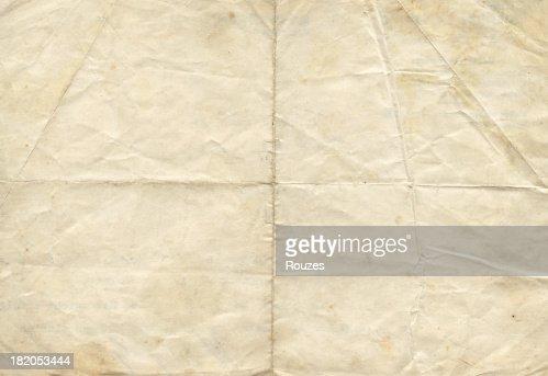 ディストレスト加工のアンティーク紙