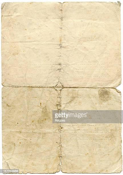 Papier antique vieilli