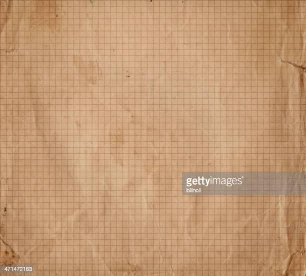 Brun usé Papier millimétré