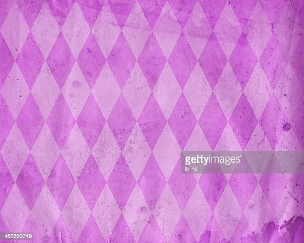 distressed diamond pattern paper