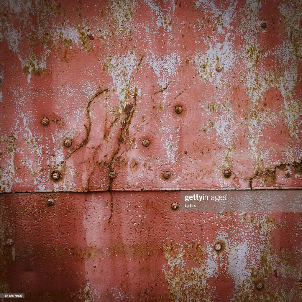 distressed metal surface