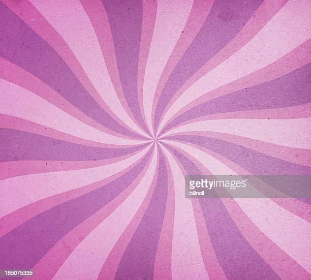 Vieilli avec motif en spirale de papier