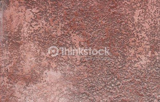 distressed rot verputzte wand mit rissige oberfl che rahmenhintergrund grunge stock foto. Black Bedroom Furniture Sets. Home Design Ideas