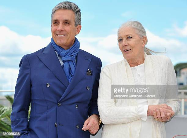 Distributor Charles S Cohen and actress Vanessa Redgrave attend the 'Howards End' photocall during the 69th annual Cannes Film Festival at the Palais...
