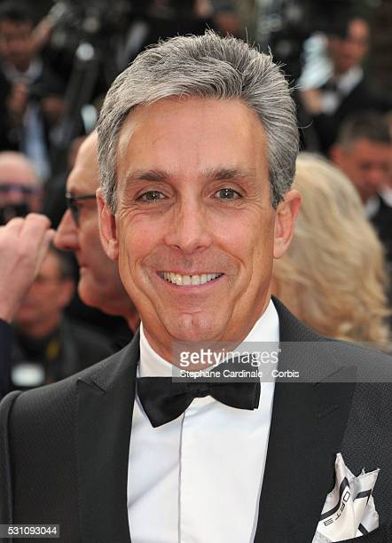 Distributor Charles S Cohen attends the 'Money Monster' premiere during the 69th annual Cannes Film Festival at the Palais des Festivals on May 12...