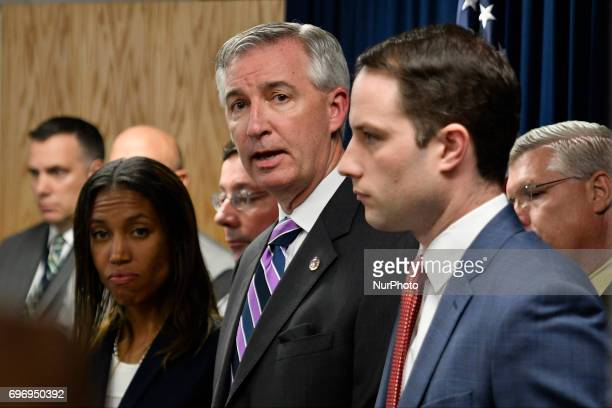 District Attorney Kevin Steele reacts moments after judge Steven O'Neill declares a mistrial in the aggravated indecent assault trail of entertainer...