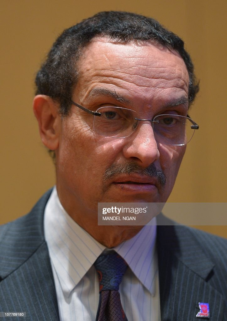 District of Columbia Mayor Vincent Gray is seen on December 6, 2012 before the opening plenary breakfast of the 36th Annual Legislative Conference of The National Black Caucus of State Legislators (NBCSL) at a hotel in Washington, DC. AFP PHOTO/Mandel NGAN