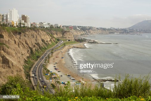district of Miraflores : Bildbanksbilder