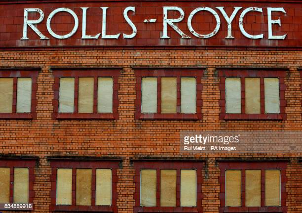 A disused RollsRoyce engineering works in Derby after it was announced that the firm plans to cut up to 2000 jobs worldwide including 140 in the UK...