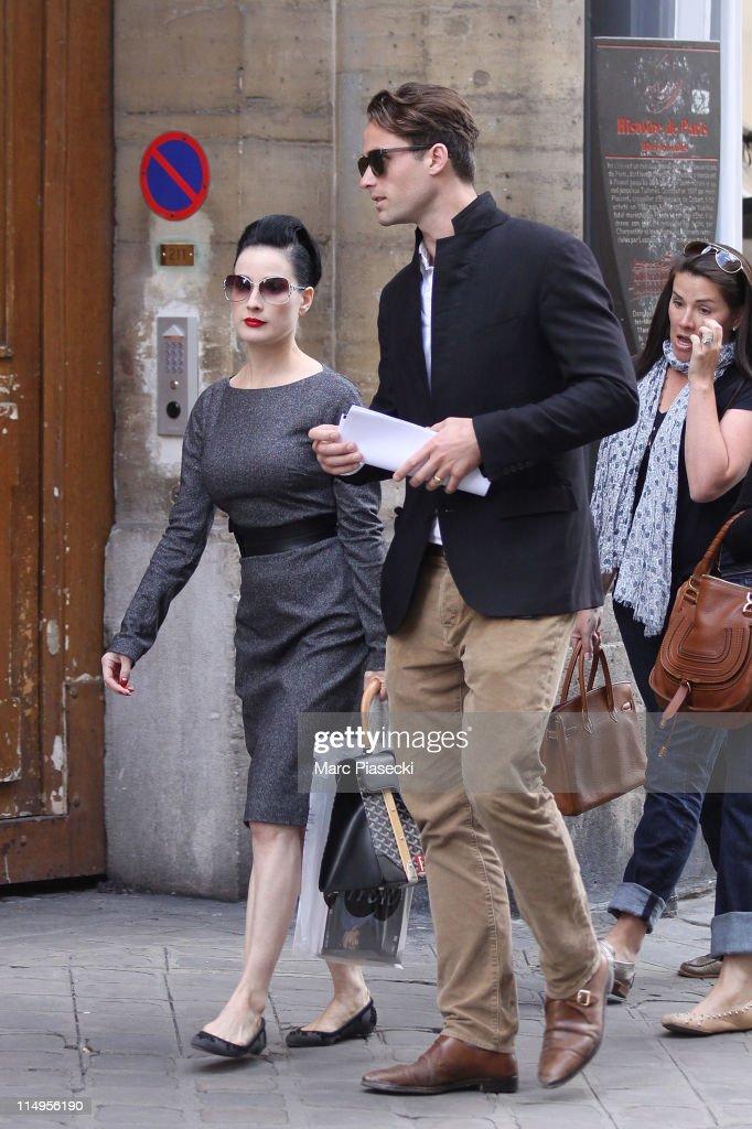 Celebrity Sightings In Paris - May 31, 2011