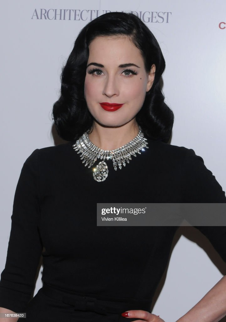 <a gi-track='captionPersonalityLinkClicked' href=/galleries/search?phrase=Dita+Von+Teese&family=editorial&specificpeople=210578 ng-click='$event.stopPropagation()'>Dita Von Teese</a> attends British luxury furnishings designer Christopher Guy presents BritWeek design icon award to design director of Jaguar Ian Callum at Christopher Guy West Hollywood Showroom on April 26, 2013 in West Hollywood, California.