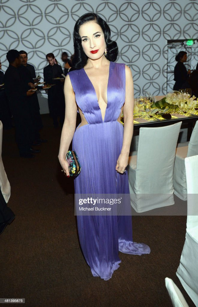 <a gi-track='captionPersonalityLinkClicked' href=/galleries/search?phrase=Dita+Von+Teese&family=editorial&specificpeople=210578 ng-click='$event.stopPropagation()'>Dita Von Teese</a> attends MOCA's 35th Anniversary Gala presented by Louis Vuitton at The Geffen Contemporary at MOCA on March 29, 2014 in Los Angeles, California.