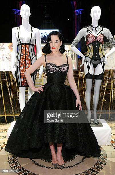 Dita Von Teese attends the 2016 Femmy Awards on February 2 2016 in New York City