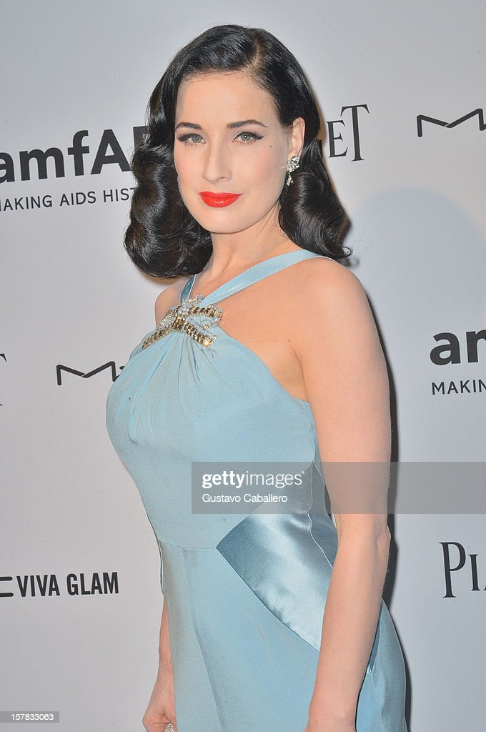 <a gi-track='captionPersonalityLinkClicked' href=/galleries/search?phrase=Dita+Von+Teese&family=editorial&specificpeople=210578 ng-click='$event.stopPropagation()'>Dita Von Teese</a> attends the amfAR Inspiration Miami Beach Party at Soho Beach House on December 6, 2012 in Miami Beach, Florida.