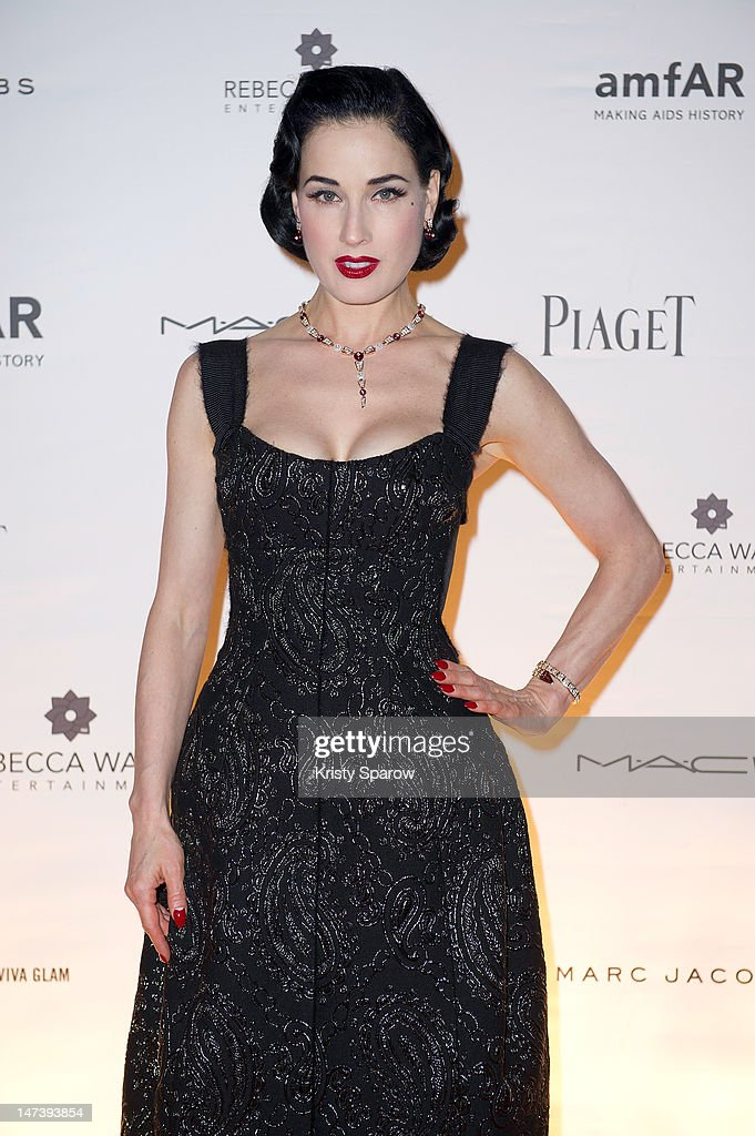 <a gi-track='captionPersonalityLinkClicked' href=/galleries/search?phrase=Dita+Von+Teese&family=editorial&specificpeople=210578 ng-click='$event.stopPropagation()'>Dita Von Teese</a> attends the amfAR Inspiration Night Paris at Maxim's on June 28, 2012 in Paris, France.