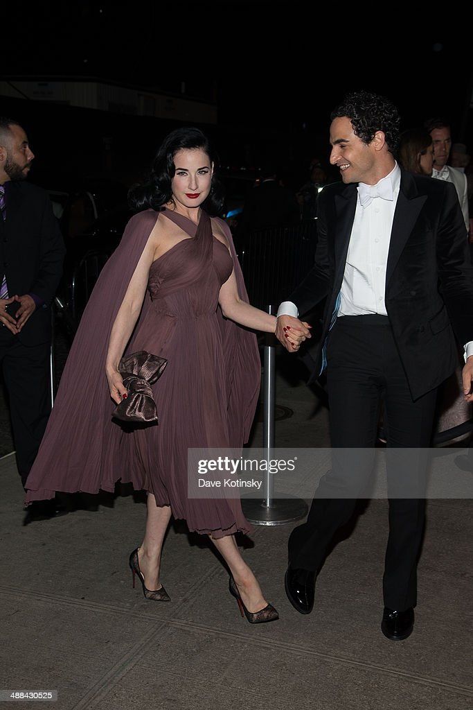 Dita Von Teese attends the 'Charles James: Beyond Fashion' Costume Institute Gala After Party at the The Standard Hotel on May 5, 2014 in New York City.