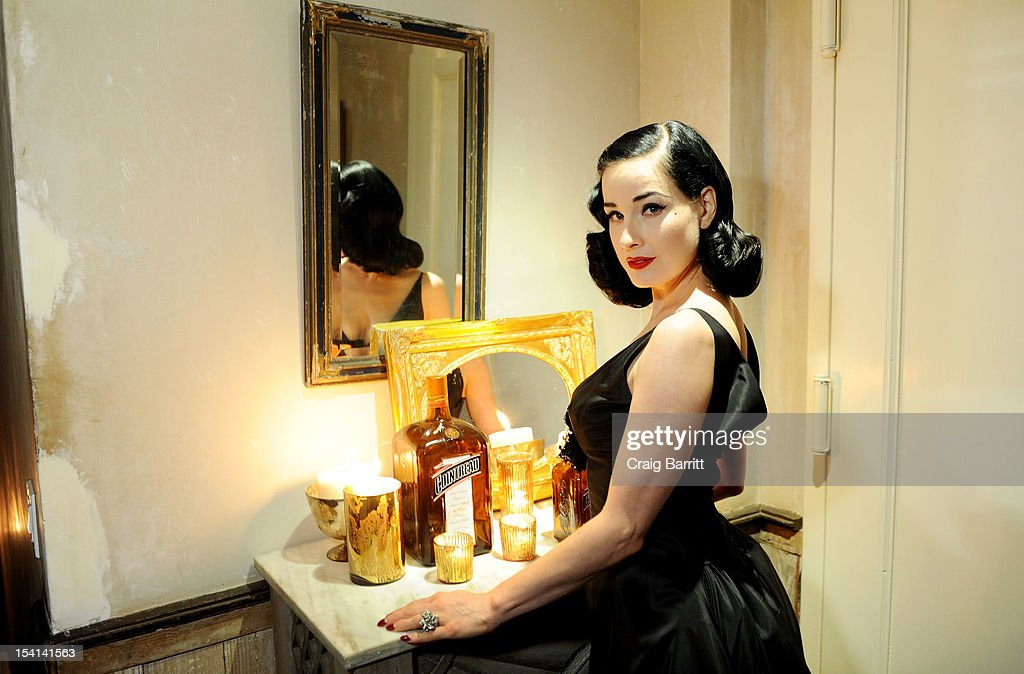 <a gi-track='captionPersonalityLinkClicked' href=/galleries/search?phrase=Dita+Von+Teese&family=editorial&specificpeople=210578 ng-click='$event.stopPropagation()'>Dita Von Teese</a> attends the Cointreau Ambassador of Libations Cannes 2013 Finals hosted by Cointreau and Gotham Magazine on October 14, 2012 in New York City.