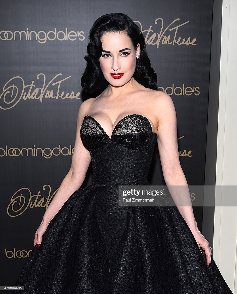 dita von teese lingerie collection launch getty images. Black Bedroom Furniture Sets. Home Design Ideas