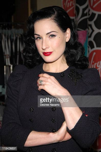 Dita Von Teese Engagement Ring Stock Photos And Pictures Getty Images