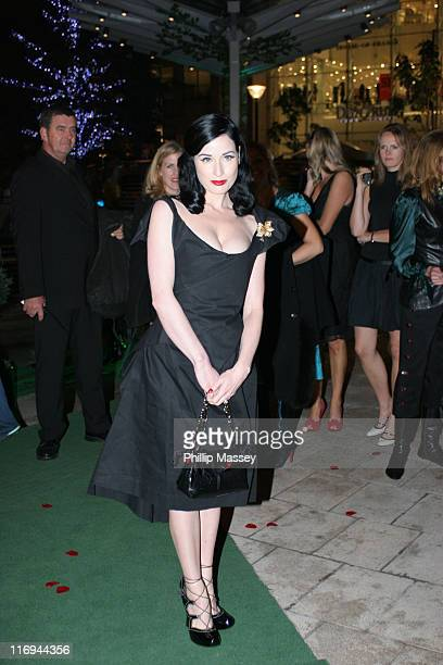 Dita Von Teese during Harvey Nichols Dublin Store Launch Party at Harvey Nichols in Dublin Ireland
