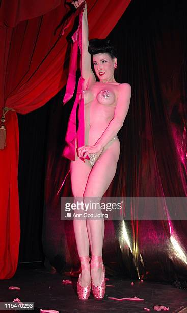 Dita Von Teese during Kelly Osbourne and Agent Provocateur Celebrate Their Birthday With 'The Greatest Lingerie Show On Earth' at Body English at The...