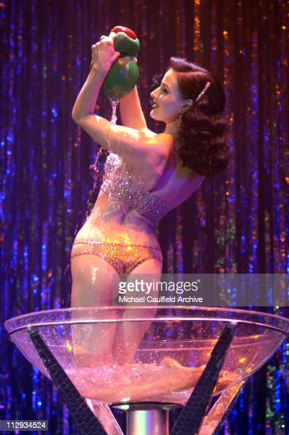 Dita Von Teese during Maxim Magazine Heats Up Los Angeles with the Pussycat Dolls Inside and Performance at Henry Fonda Theatre in Los Angeles...