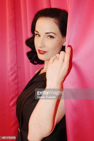 dita von teese engagement ring stock photos and pictures getty