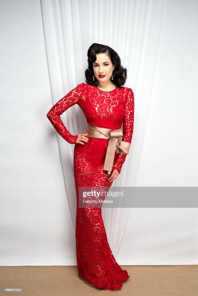 Dita Von Teese, The Hollywood Reporter, May 2013