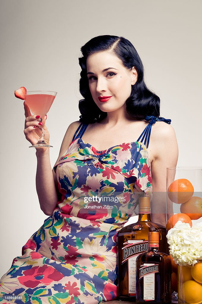 Cointreau and Dita Von Teese Launch Summer Bar Cart Cocktail Program at Poolside Soiree