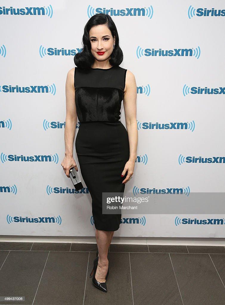 Celebrities Visit SiriusXM Studios - December 1, 2015
