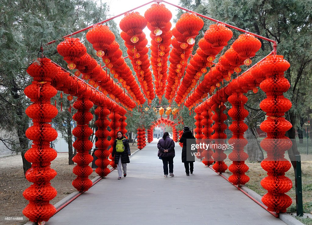 Beijing Gets Prepared For Chinese Lunar New Year | Getty ... Ditan