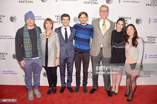 Dito Montiel Kathy Baker Roberto Aguire Giles Matthey Douglas Soesbe Monica Aguirre Diez Barroso and Mia Chang attend the 'Boulevard' Premiere during...
