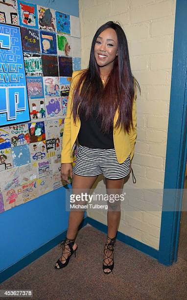 Diva Alicia Fox attends the 'Be A STAR' Antibullying Rally For 200 Students at Boys Girls Club Of East Los Angeles on August 14 2014 in Los Angeles...