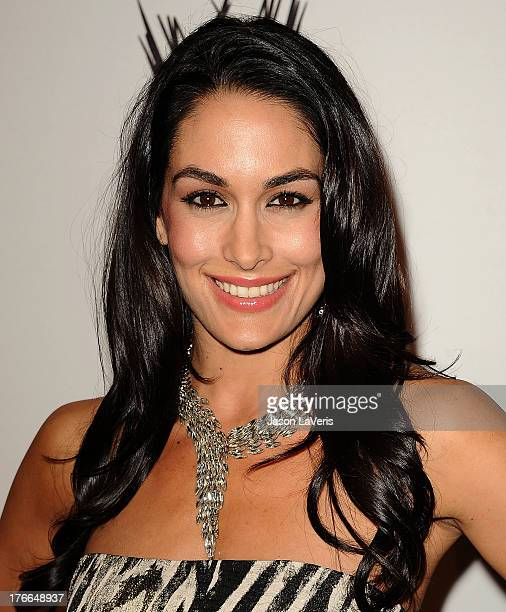 Diva Brie Bella attends the WWE SummerSlam VIP party at Beverly Hills Hotel on August 15 2013 in Beverly Hills California