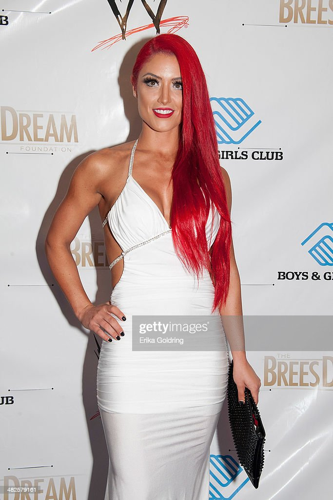 WWE diva Eva Marie attends WWE's 2014 SuperStars For Kids at the New Orleans Museum of Art on April 3 2014 in New Orleans City