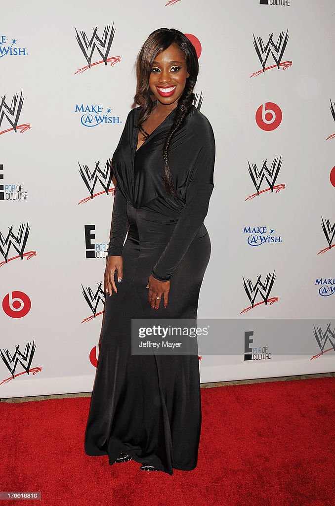 WWE Diva Naomi Knight attends WWE & E! Entertainment's 'SuperStars For Hope' at the Beverly Hills Hotel on August 15, 2013 in Beverly Hills, California.