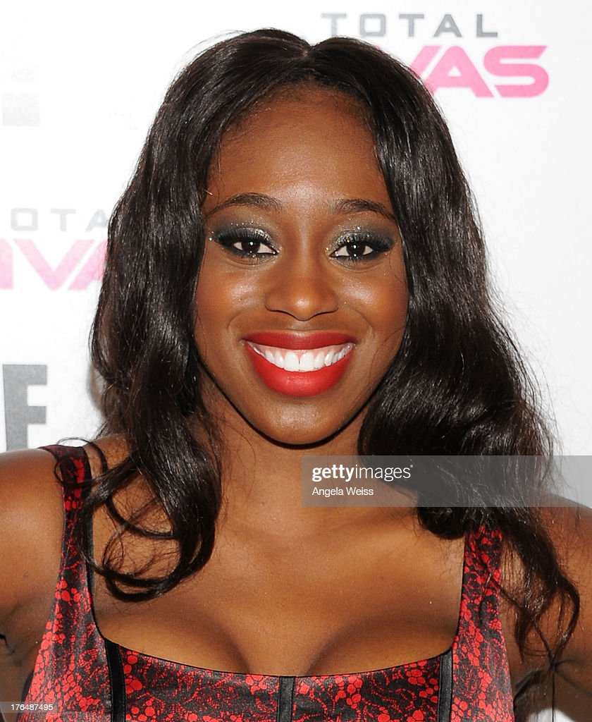 Diva Naomi of Total Divas attends the WWE SummerSlam press conference at Beverly Hills Hotel on August 13, 2013 in Beverly Hills, California.
